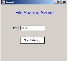 filesharingserver